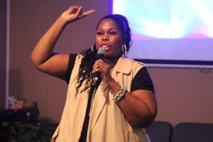 Worship Leader Sis.Victoria Brown
